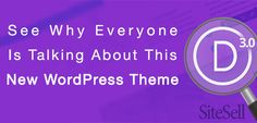 See Why Everyone Is Talking About This New WordPress Theme via @sitesell