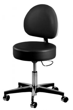 Techno-Aide - BPS-22 - Pneumatic Lift Stool With Backrest