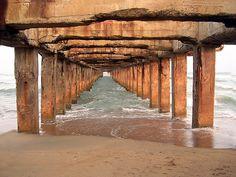 wooden pier