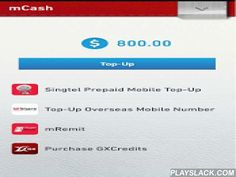 Singtel MWallet  Android App - playslack.com ,  Change the way you pay for a better everyday with Singtel mWallet! 1. New!!! Top-Up Overseas Prepaid Mobile NumberSend mobile credit top-ups to your loved ones with International Prepaid Airtime Top-Up directly from your phone 24/7 with Singtel mCash. 2. Loyalty Cards & CouponsBe rewarded with free treats, exciting discounts, exclusive surprises and special promos on-the-go! If you're a Singtel Prestige customer, you can also download your…