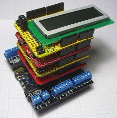 List of shields available for Arduino ( stackable)