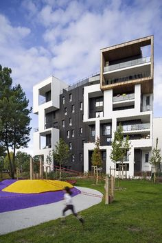 the housing complex vackov project emerged from long term research utilizing low rise high. Black Bedroom Furniture Sets. Home Design Ideas