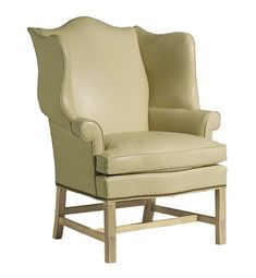 Townsend Wing Chair from the James River collection by Hickory Chair Furniture Co.