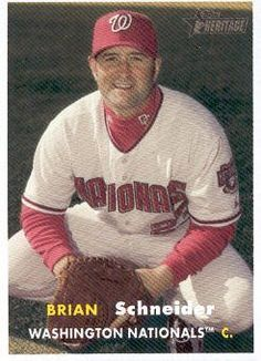 2006 Topps Heritage Baseball #357 Brian Schneider MLB Trading Card by Topps Heritage. $1.99. 2006 Topps Co. trading card in near mint/mint condition, authenticated by Topps Collectibles