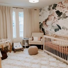 ✨ neutral tones in a pretty home 🏠 • #babyletto Gelato crib and Sleepytime rocker • 📷: nursery designed by mama @emmahopp Cribs, Mamas And Papas, Convertible Crib, Nursery Design, Neutral Tones, Nurseries, Gelato, Interior Inspiration, Toddler Bed
