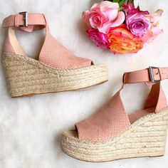 Marc Fisher Annie Espadrille Wedges | Urban Blonde