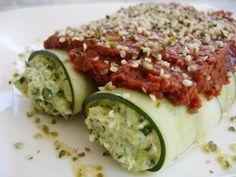 Raw Vegan Spinach Manicotti  #kombuchaguru #rawfood Also check out: http://kombuchaguru.com