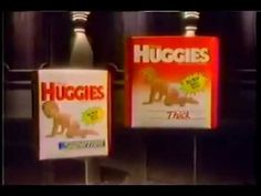 Kleenex Huggies diapers 1988 Commercial Huggies Diapers, Plastic Pants, Retro Baby, Commercial, 1970s, Fun, Watch, Clothing, Vintage