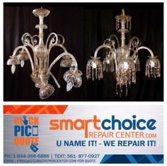 We repair and restore all types of chandeliers from rusting we repair and restore all types of chandeliers from rusting peeling to rewiring mozeypictures Choice Image
