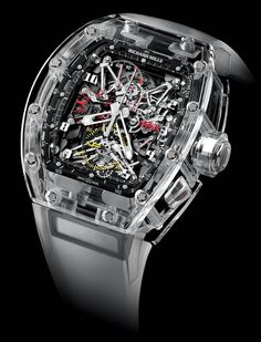 Richard Mille RM 56 Felipe Massa SAPPHIRE (100% Sapphire crystal case).  Only 5 pcs to be made!