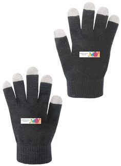 Custom Embroidered Touch Screen Gloves toronto