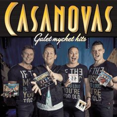 """#Casanovas nästa skiva """"Galet Mycket Hits"""". """"dansband #dans #musik #attdansaärattleva"""
