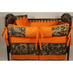 Custom Made Baby Crib Bedding Advantage max 4 real tree