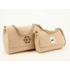 Mulberry Cecily with flower classic calfskin bag 1604 Light Orange -  2013-05-20 a7f4cdbdac02e