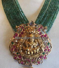 Antique Pendant by Sri Lakshmi Jewellers