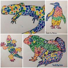 al estilo de Gaudi Animales al estilo de Gaudi.Animales al estilo de Gaudi. Projects For Kids, Art Projects, Spanish Art, Art En Ligne, Art Brut, Antoni Gaudi, Arts Ed, Preschool Art, Art Plastique