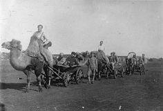 Members of the Czechoslovak Legion in the lower Volga, 1918.