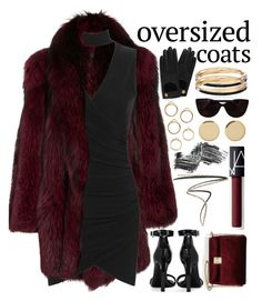 """Oversized Coat"" by angelxalice ❤ liked on Polyvore featuring Magdalena Frackowiak, KC Jagger, Michael Kors, WearAll, Yves Saint Laurent, NARS Cosmetics, Eyeko, Burberry, Illamasqua and Tiffany & Co."