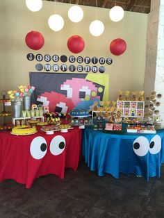 PacMan Party Birthday Party Ideas   Photo 1 of 17   Catch My Party