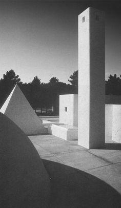 Eduardo Souto de Moura, House in Quinta do Lago, 1984-1989, Almancil, Algarve, Portugal