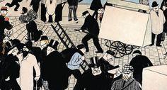 Félix Vallotton, Scène de rue (Street Scene), 1895 Guggenheim