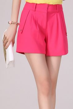 Korean Summer Fashion Slim Plus Size Shorts