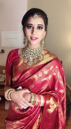 Best Makeup Artist in Mumbai Best Makeup Artist in Mumbai Indian Bridal Photos, Indian Bridal Sarees, Indian Bridal Outfits, Indian Bridal Fashion, Bridal Lehenga, Saree Wedding, Wedding Bride, Engagement Saree, Reception Sarees