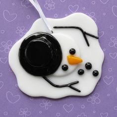 Melted Snowman, ornament: