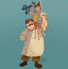 Pixar Movies, Movie Characters, Disney Movies, Disney And Dreamworks, Disney Pixar, Avatar Disney, Watch Adventure Time, Lucas Movie, Disney Fan Art