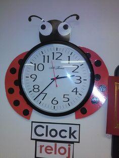 Ladybug clock idea
