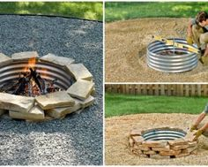 You can make a DIY grill from almost any object! Tire rim, Horseshoes, Machine drum, car parts... Take some inspiration here! 1 -Recycled Tire Rim Grill an