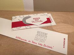 Farbfächer und Willkommen im Team - Geschenk - papiervonmir