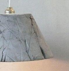 Betonlampe Catherina 30, Knitter von LEOSTEEN auf DaWanda.com