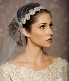 Timeless & Elegant Juliet Cap Bridal Veils