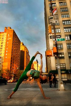 Takin it to the Streets of New York. ~ Photographs by Robert Sturman | elephant journal