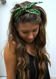ROCKABILLY Headband Wired Dolly Bow Bandana PIN UP  7d5b692becc
