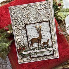 Paper Art, Paper Crafts, New Darlings, Nest Design, Winter Cards, Halloween Cards, Tim Holtz, Christmas Inspiration, Greeting Cards Handmade