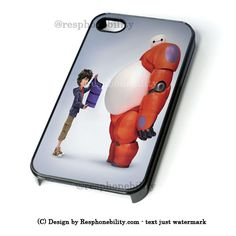 Funny Hiro Hamada And Baymax Big Hero 6 iPhone 4 4S 5 5S 5C 6 6 Plus C – Resphonebility