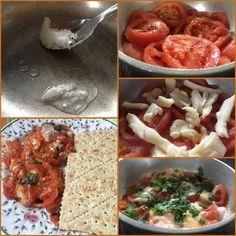 Backtoeden: Tomates gratinados con hierbas frescas