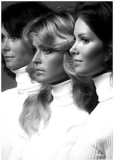 "The original ""Charlie's Angels"". (Kate Jackson, Farrah Fawcett, Jacqueline Smith)"