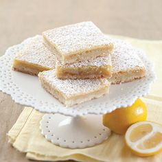 These Meyer Lemon Bars are a fun twist on a favorite Southern dessert.