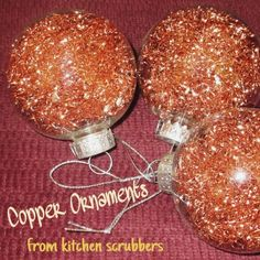 copper ornaments from , christmas decorations, seasonal holiday decor