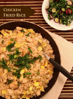 "Wendi's Spanish ""Fried"" Rice` the secret to the dry rice that ..."