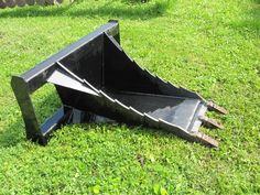 Monster Duty Stump Bucket Skid Steer Loader Attachment Skid Steer Attachments, Tractor Attachments, Tools And Equipment, Heavy Equipment, Mahindra Tractor, Tractor Accessories, Tractor Implements, Case Tractors, Farm Projects