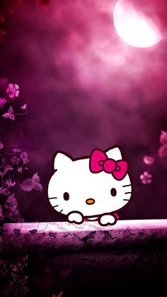 Hello Kitty Hello Kitty Wallpaper Hello Kitty Backgrounds in Amazing Hello Kitty Wallpapers Para Celular Gratis - All Cartoon Wallpapers Cartoon Wallpaper, Pink Moon Wallpaper, Hello Kitty Wallpaper Hd, Wallpaper Computer, Hello Kitty Backgrounds, Phone Wallpaper Images, Cellphone Wallpaper, Iphone Wallpaper, Phone Backgrounds