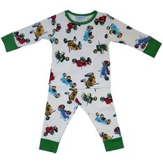 Red Powell Craft Boys Cotton Jersey Pirate Pajamas