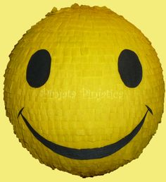 Smiley pinata