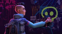 ArtStation - ZIO - Rig   Resources Character Creation, Character Concept, Character Design, 3d Character, Concept Art, Technical Artist, Fantasy Princess, Custom Ribbon, Cyberpunk Art