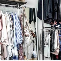 When you got a lot of clothes 👚👗 Use #myrackbuddy and win your money back. Find more information online 👉🏻 link in bio / 📸 @fashionvernissage #myrackbuddy #campaign #kampagne #interior #shareyourstyle #instagood #instahome #industrial #design #danish #furniture #tøjstativ #indretning #boliginspiration #boligindretning #wardrobe #garderobe #kleider #kleiderständer #klesstativ #clothesrack #freeshipping