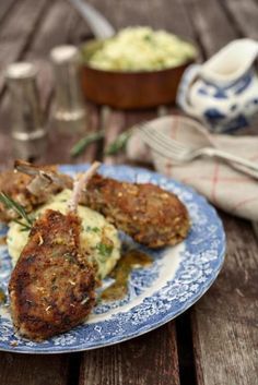 St. Patrick's Day Irish recipe - Mustard and herb lamb chops with honey dressing | Irish Food and Irish Drinks | IrishCentral